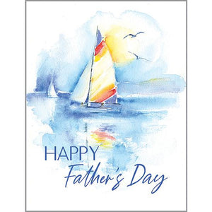 Father's Day Card - Colorful Sail