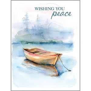 Sympathy card - Peace Boat