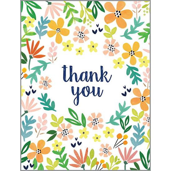 {with scripture} Thank You Card - Rejoice Flowers