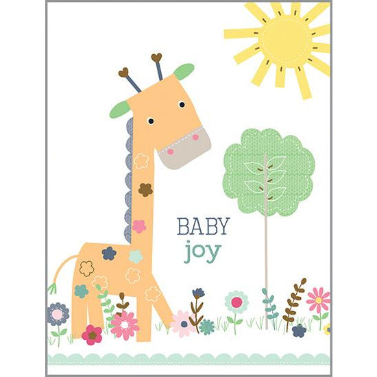 {with scripture} Baby card - Sweet Giraffe, Gina B Designs