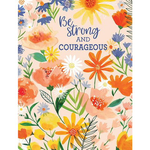 {with scripture} Thinking of You card - Orange Flower Mix