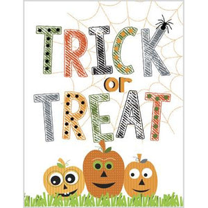 Halloween Card - Trick or Treat, Gina B Designs