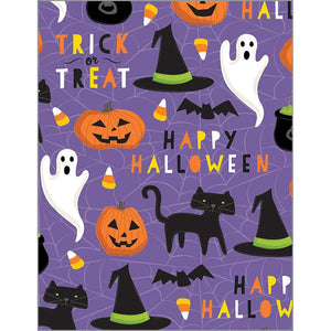 Halloween Card - Cat and Ghost, Gina B Designs