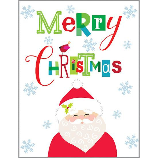 Christmas card - Merry Santa, Gina B Designs