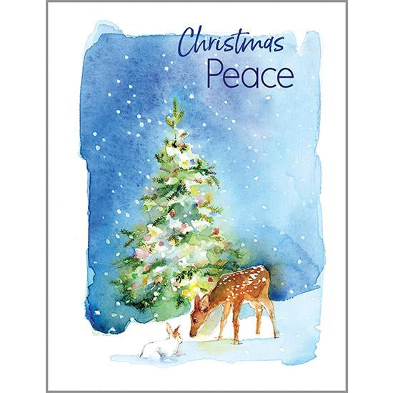 Christmas card - Christmas Peace, Gina B Designs