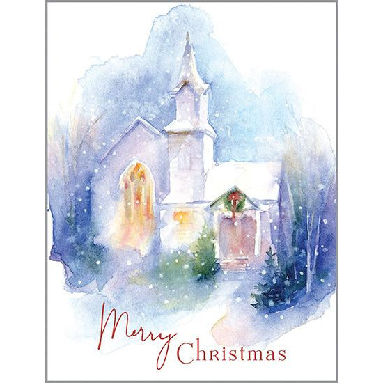 {with scripture} Christmas card - Christmas Church