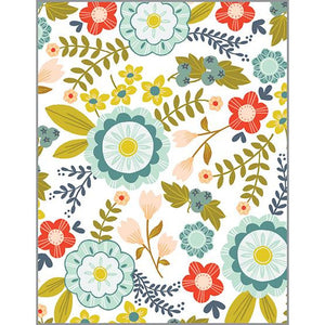 Blank Note Card  - Nordic Pattern
