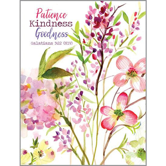 {with scripture} Blank Note Card  - Spring Apple Blossom, Gina B Designs