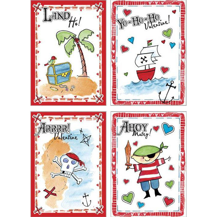 Kids Valentine Pack - Pirate Party