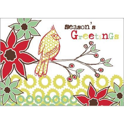Gift Card Greetings - Pattern Cardinal -sale