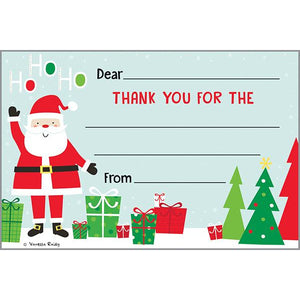 Holiday Kids Thank You Postcards - Ho Ho Ho Santa