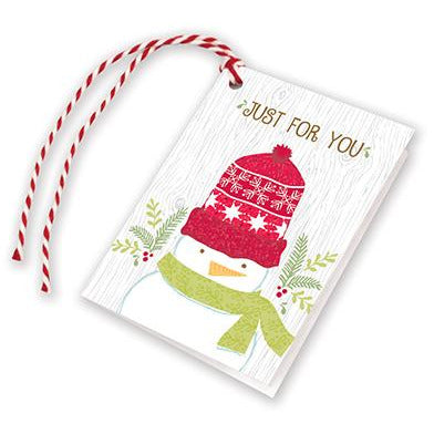Holiday Gift Tags - Snowman/Knit Hat, Gina B Designs