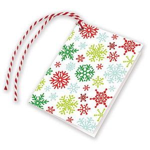Holiday Gift Tags - Snowflakes, Gina B Designs
