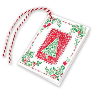 Holiday Gift Tags - Nordic Tree, Gina B Designs
