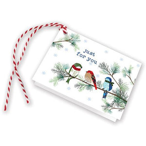Holiday Gift Tags - Winter Birds/Pine, Gina B Designs