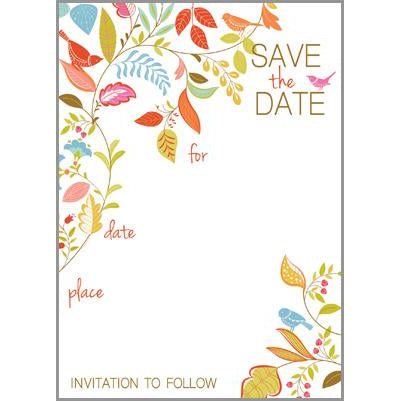 Fill-In Invitation - Save the Date
