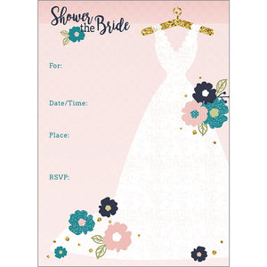Fill-In Invitation - Wedding Dress