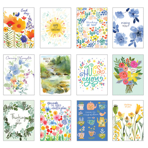 Card Assortment-Thinking of You Greeting Cards