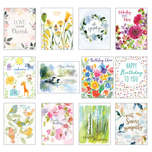 Card Assortment-All Occasion Greeting Cards