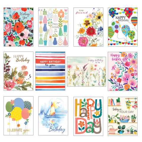 Card Assortment-Birthday Greeting Cards