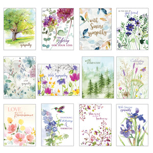 Card Assortment-Sympathy Greeting Cards