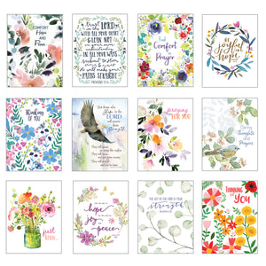 Card Assortment-Thinking of You Greeting Cards {with scripture}