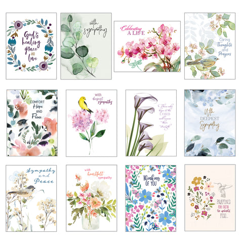 Card Assortment-Sympathy Greeting Cards {with scripture}