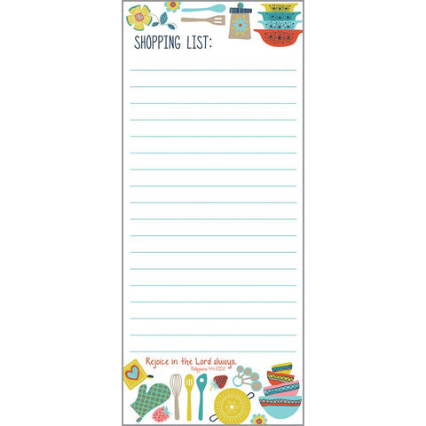 {with scripture} List Pad - Groovy Kitchen