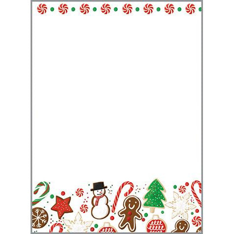 Holiday Memo Pad-  Christmas Sweets, Gina B Designs