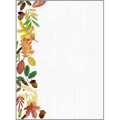 Holiday Memo Pad- Gather Leaves, Gina B Designs