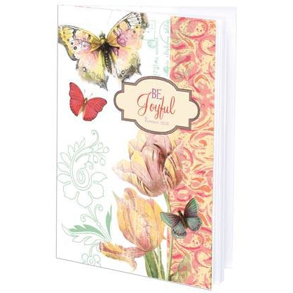 {with scripture} Mini Journal - Tulips and Butterflies