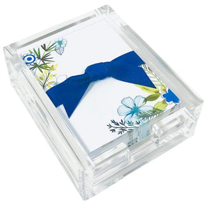 Desk Note Set - Leaves & Blues