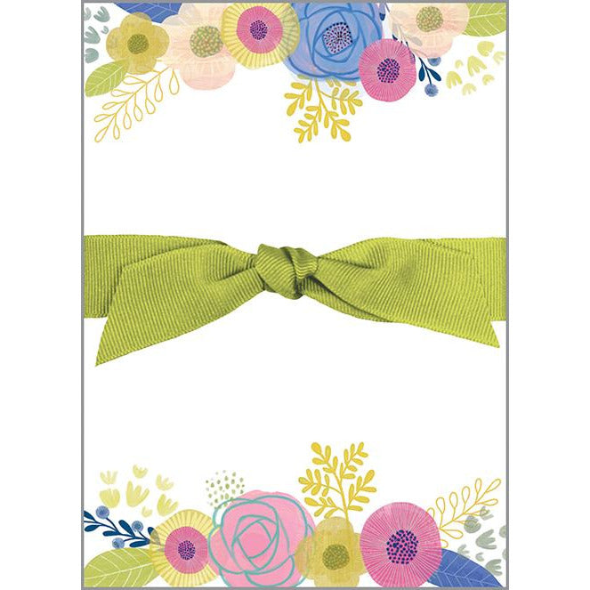 Chunky Bow Pad - Flowers and Sprigs