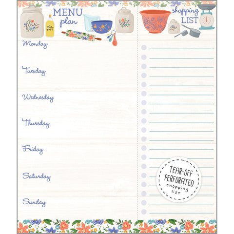 Meal Planner Pad - In The Kitchen