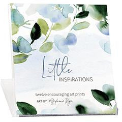 Little Inspirations Art Prints - Stephanie's Flowers, Gina B Designs