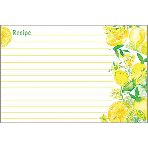 Recipe Cards - Lemon Lime