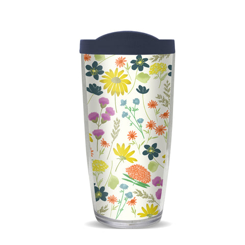 Wildflowers Thermal Tumbler, Gina B Designs