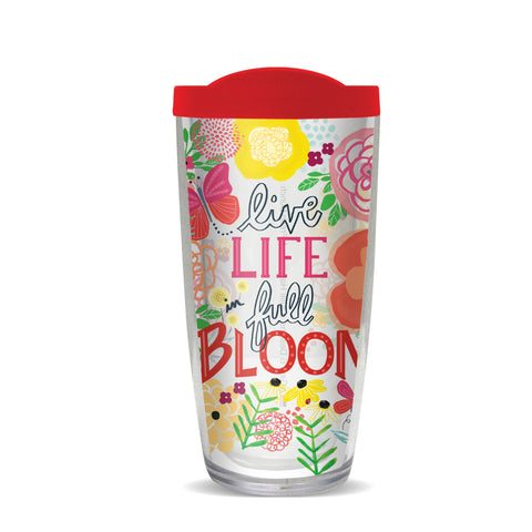 Life in Bloom Thermal Tumbler, Gina B Designs
