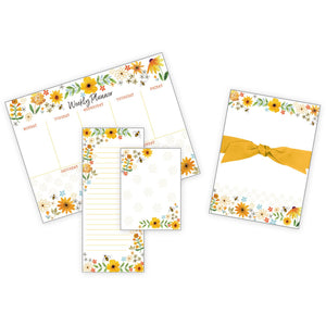 Gift Collection - (New!)Bees Flowers and Honeycomb