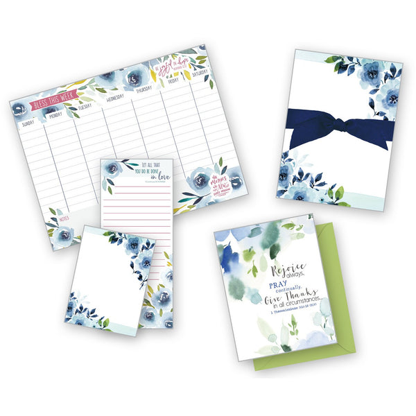 Bundle - {with scripture} - Blue Roses Gift Collection
