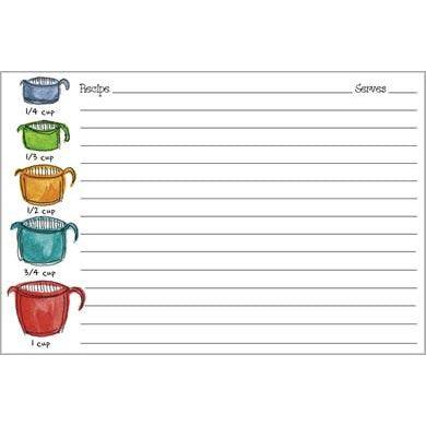 Recipe Cards - Measuring Cups