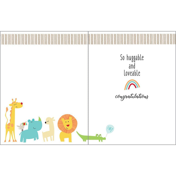 Baby card - Baby Ark