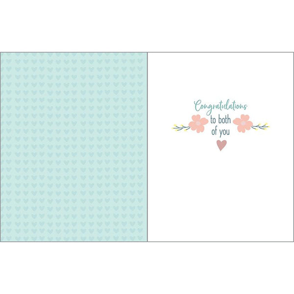 Wedding Shower Card - Shower with Love, Gina B Designs