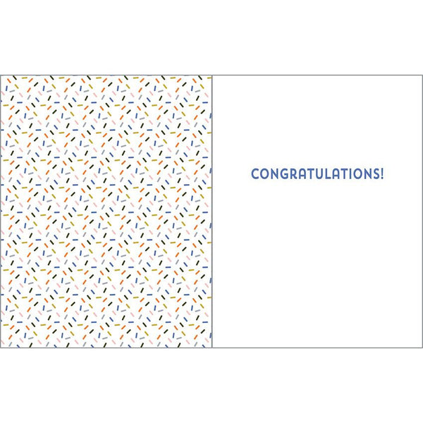 Congratulations card - You did it!, Gina B Designs