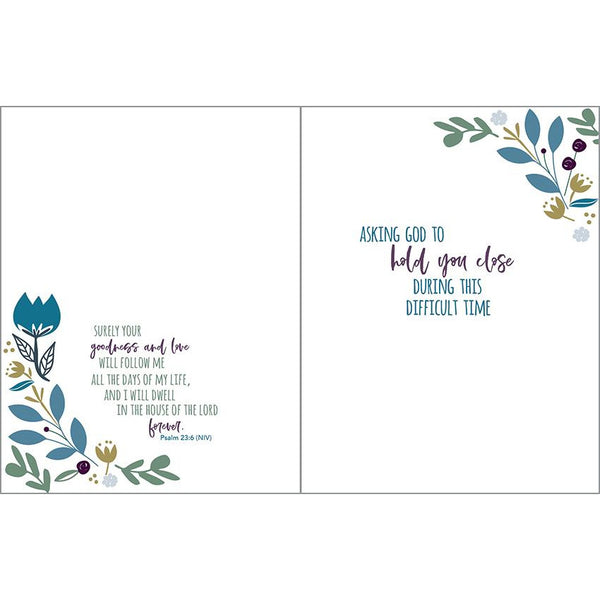 {with scripture} Sympathy card - Healing Grace, Gina B Designs