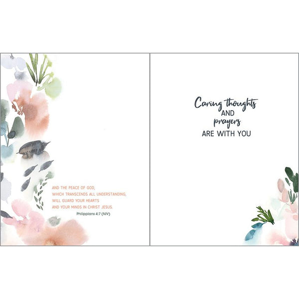{with scripture} Sympathy Card - Wild Beauty