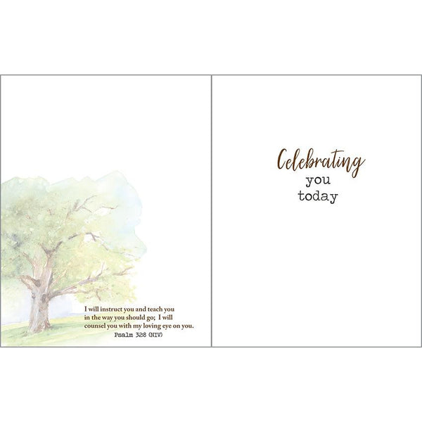 {with scripture} Father's Day Card - Tree