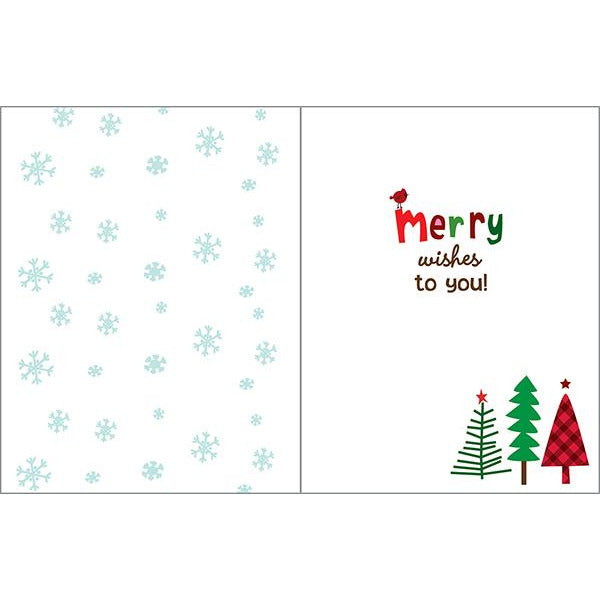 Christmas cards - Merry Trees-sale