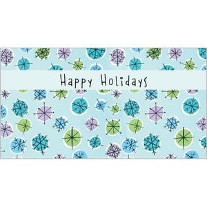 Money/Gift Card - Snowflakes & Dots-sale