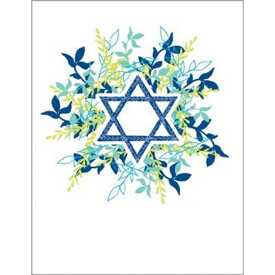 Religious Card - Star of David, Gina B Designs